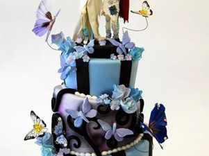 Sally and Emily (Corpse Bride) Cake