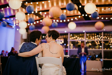 Queer Book Themed Wedding at VisArts