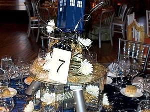 Doctor Who Table Top Design