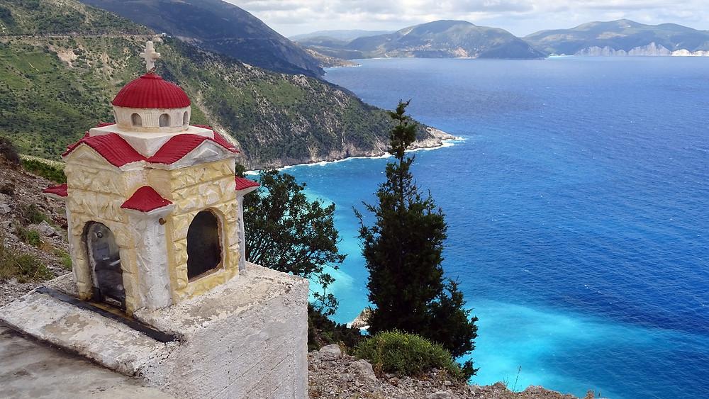 אסוס  Assos   האי קפלוניה יוון