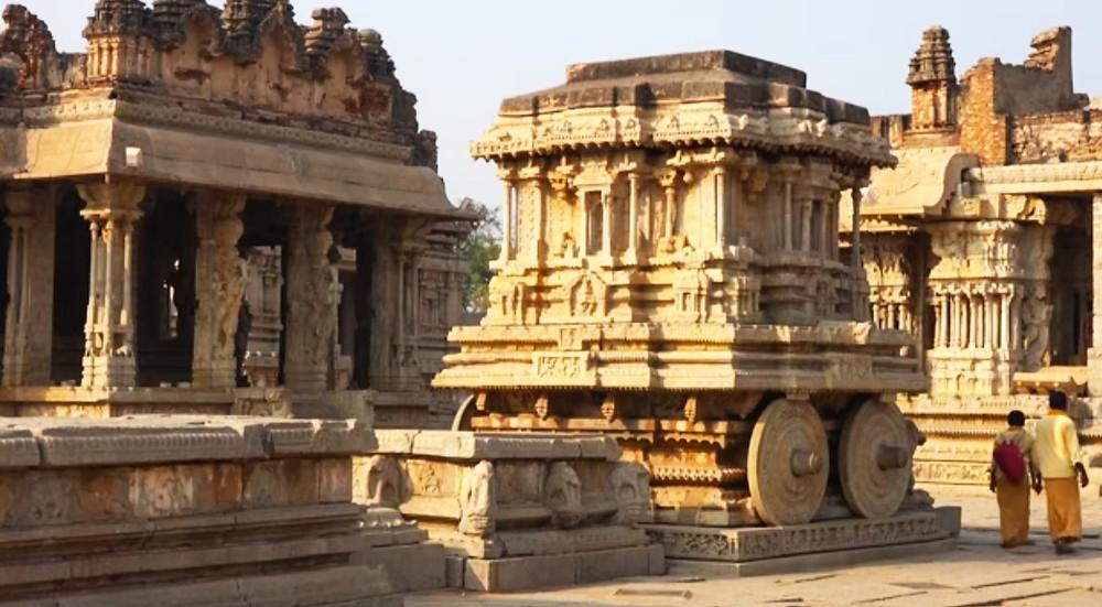 שרידים ארכיאולוגים בהאמפי שבהודו
