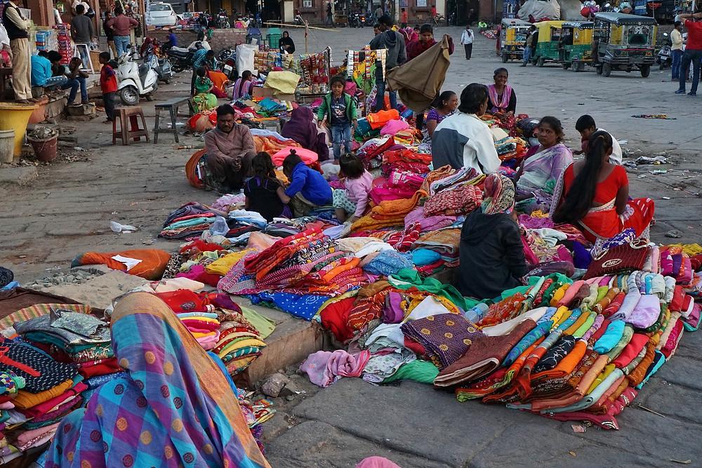 שכונת סנג'אי מחזור בגדים