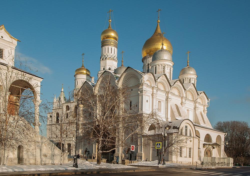 הקרמלין מוסקבה רוסיה