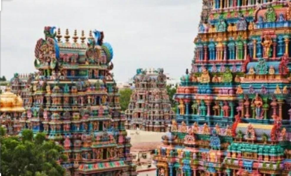 מדוראי הודו - מקדש מינקשי