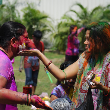 פסטיבל ההולי בפושקר הודו