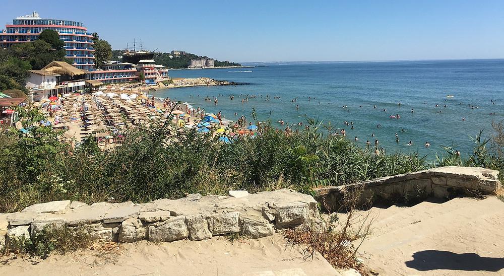 חוף בים השחור ורנה בולגריה