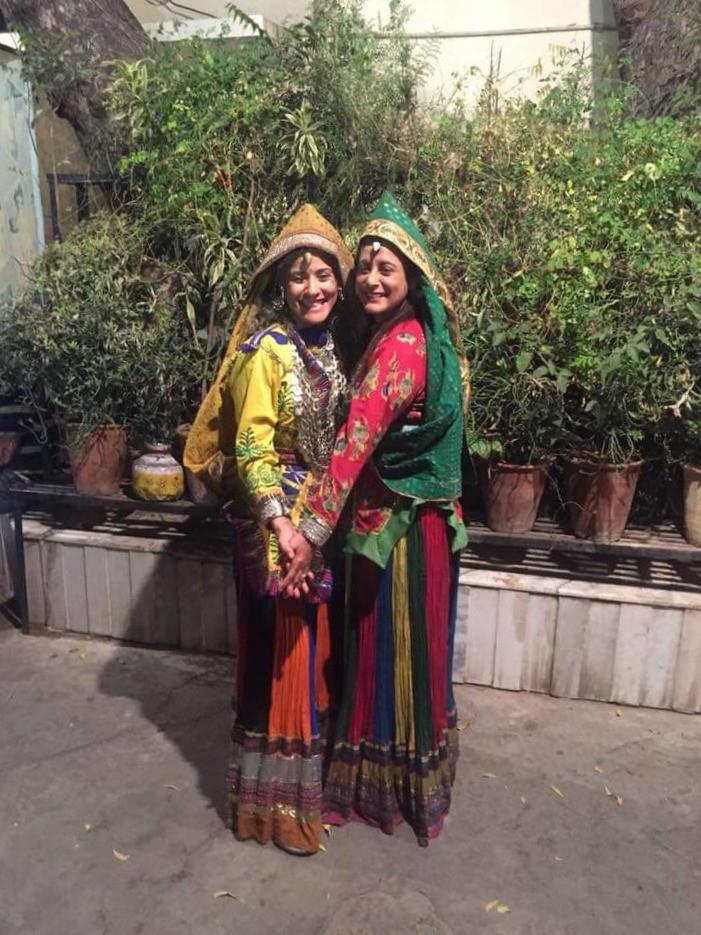 בוליווד שבהודו ,התחפשנו להודיות