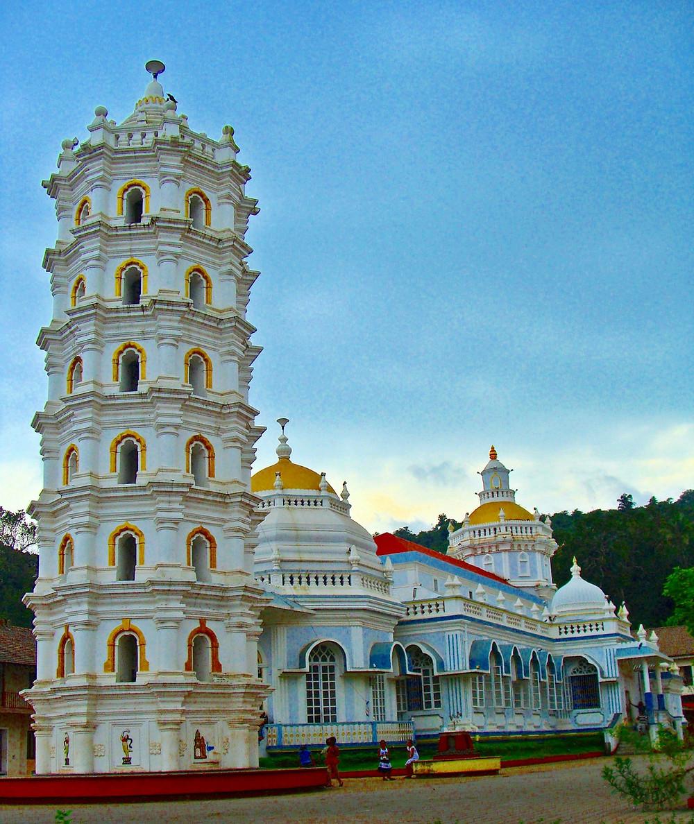 מקדש בגואה הודו