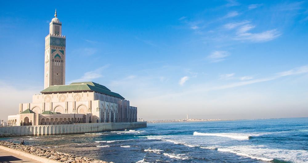 מסגד על הים בקזבלנקה