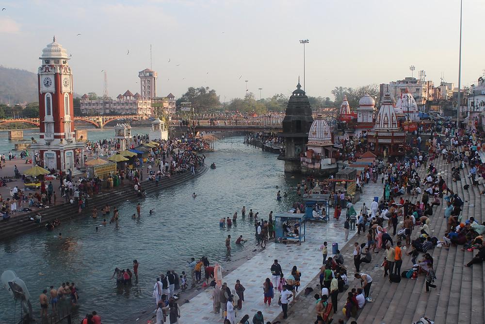 הארידוואר הודו - העיר הקדושה על גדות הגאנגס