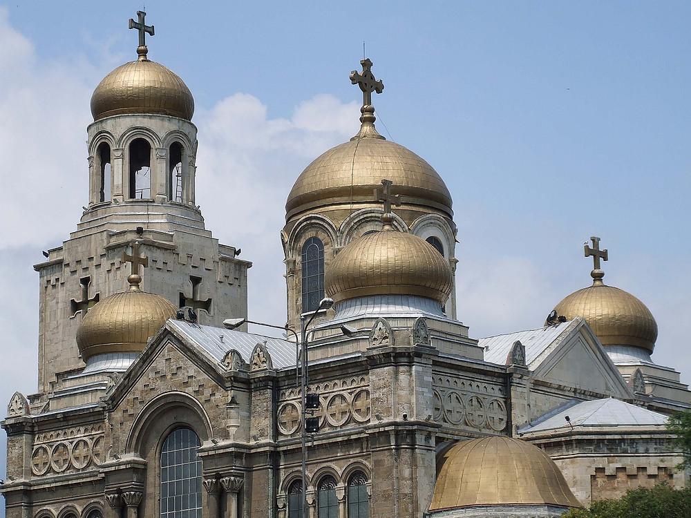 קתדרלת עליית מריה לשמיים ורנה שבבולגריה