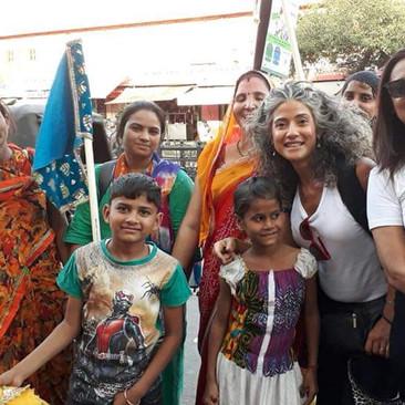 נשם הודיות - טיול נשים להודו