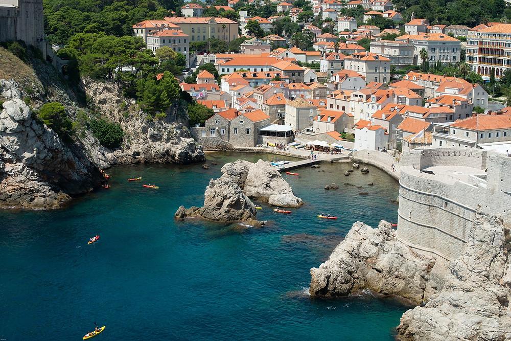Dubrovnik דוברובניק עיר נמל קרואטית דרומית