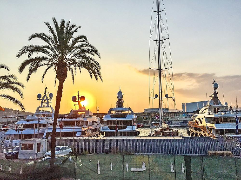 הנמל הישן ברצלונה