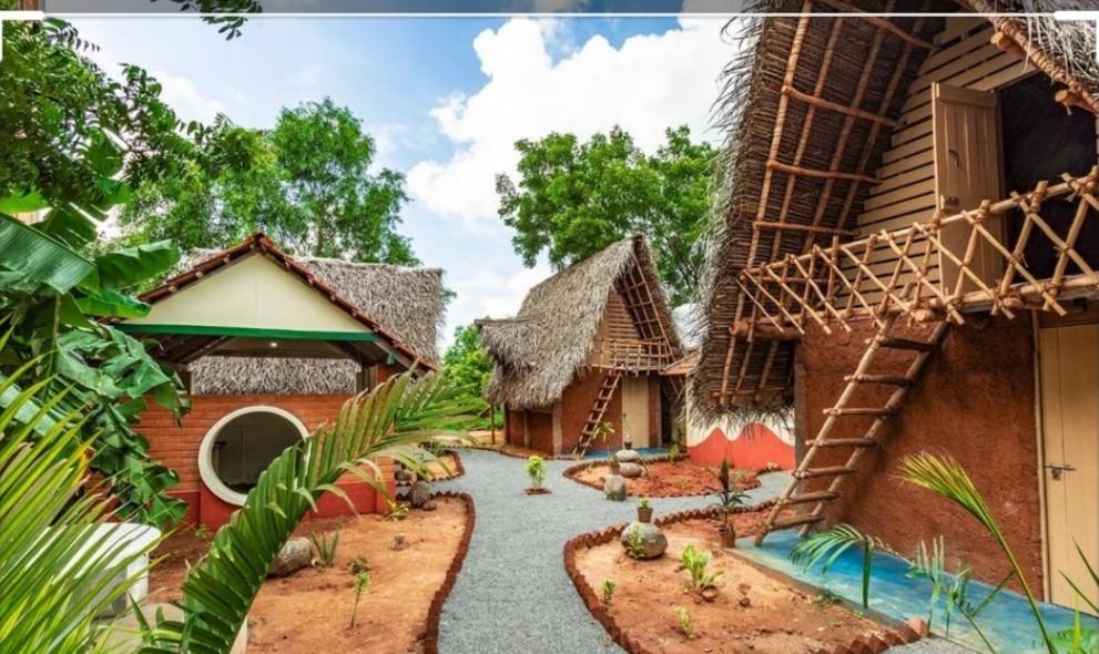 אורוויל חווה אקולוגית בדרום הודומקומות הלינה שלנו