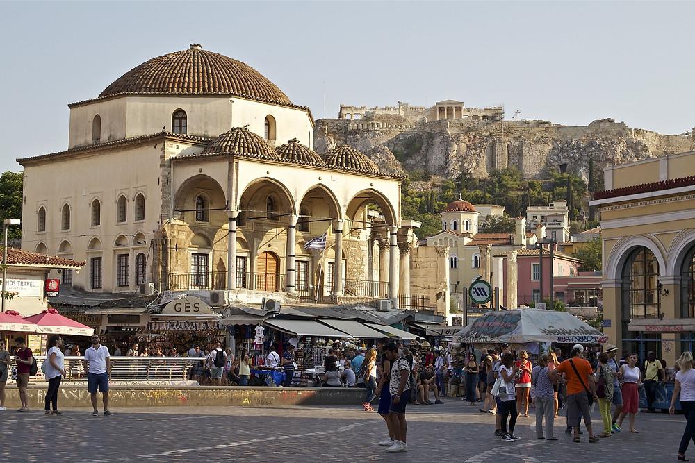 אתונה מרכז תרבות עם המון אטרקציות ובילויים