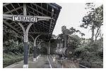 a exposição - Estação da fazenda Cabagu, casa nata de Santos Dumont nacidade que recebe hoje seu nome,em Minas Gerais.
