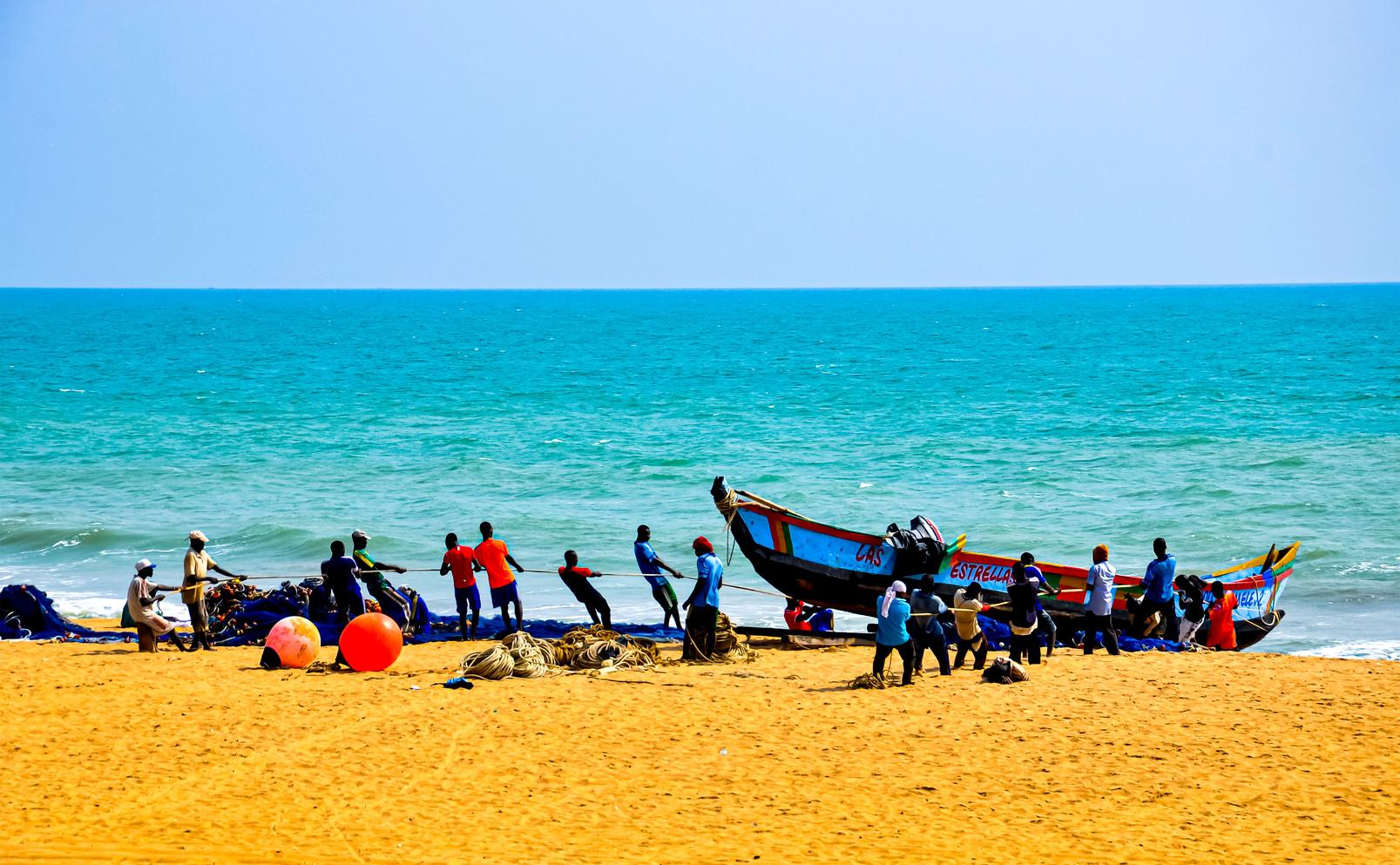 Pecheurs du Benin