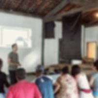 Workshop no vilarejo de São José dos Lopes/ Ibitipoca - MG