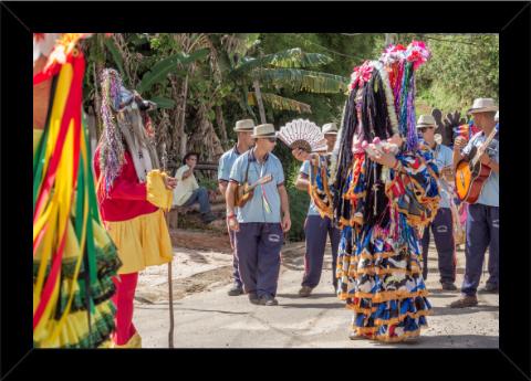 Chegada de Reis em Santa Bárbara do Monte Verde, MG - 2020