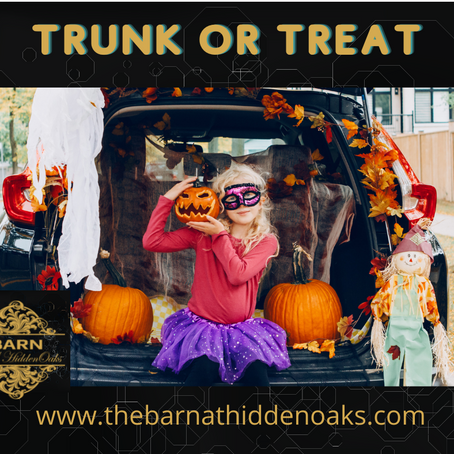 TRUNK OR TREAT EVENT!!
