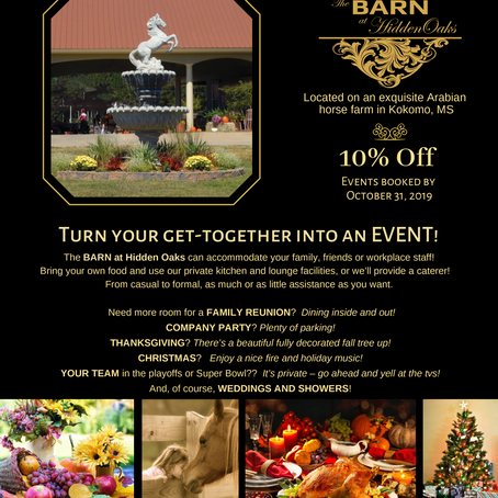 Turn your get-together into an EVENT!