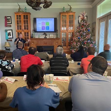 2021 Leadership Class Retreat Hosted at The Barn at Hidden Oaks