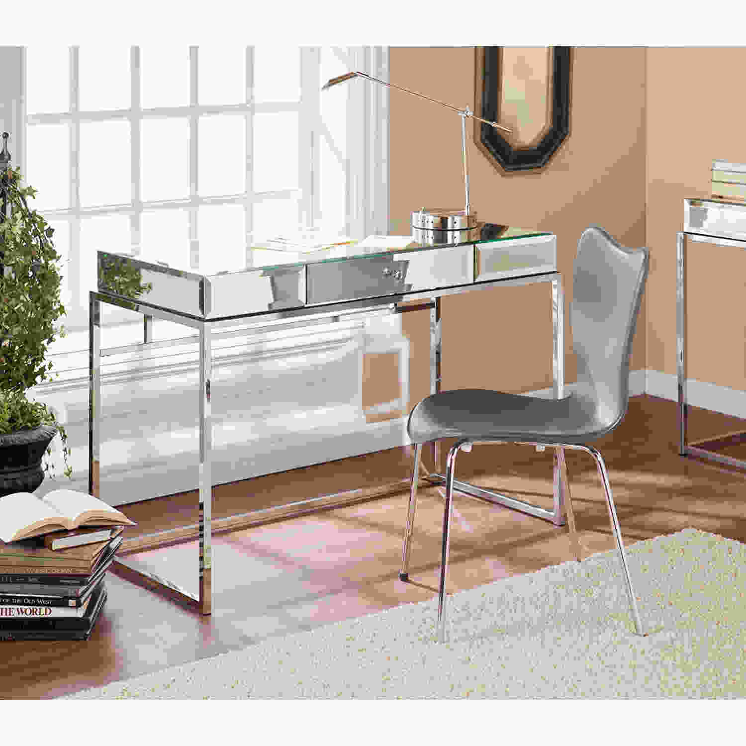 oak nuance top with table polished hidden bring storage mirrored furniture lift square white brown glamorous and desk stained warm vanity mirror wood rectangle