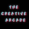 CREATIVE ARCADE LOGO CIRCLE BLACK BACKGR
