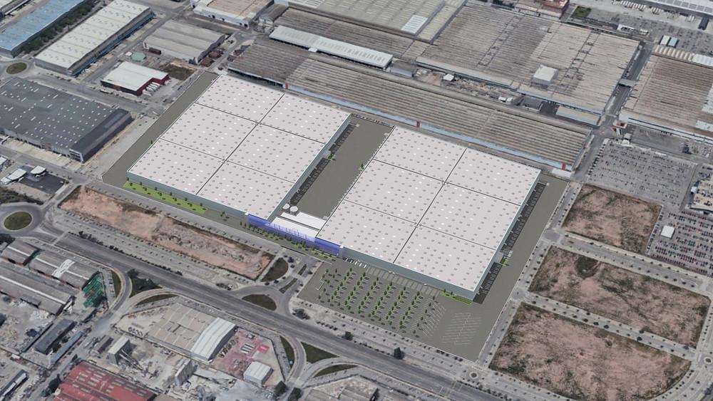 En Archs constructora som especialistes en obra industrial: edificis logístics, construcció d'instal·lacions industrials. Parc logístic ZAL BZ.1