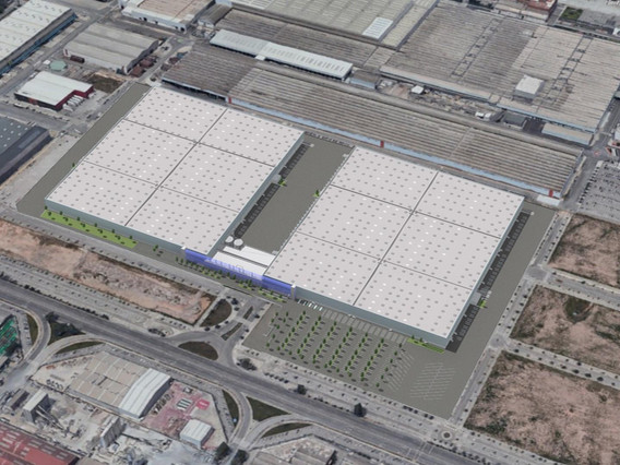 Edifici logístic - ZAL BZ.1 ~ 2 naus de 96.000 m² i edifici d'oficines de 2.800 m²