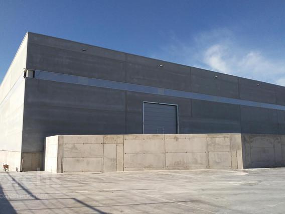 Construcció de dos edificis industrials de 9.100 m²