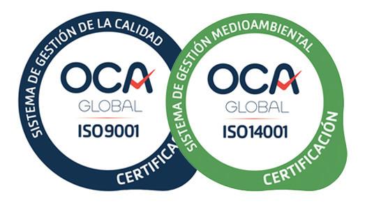 Certificacions ISO Archs Constructora