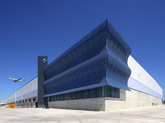 Edifici logístic de 60.000 m² amb 2.500 m² d'oficines a la parcel·la ZAM de la ZAL Port  per a LIDL