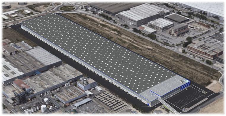 A  Archs constructora som especialistes en obra industrial: edificis logístics, construcció d'instal·lacions industrials, reformes i ampliacions, etc