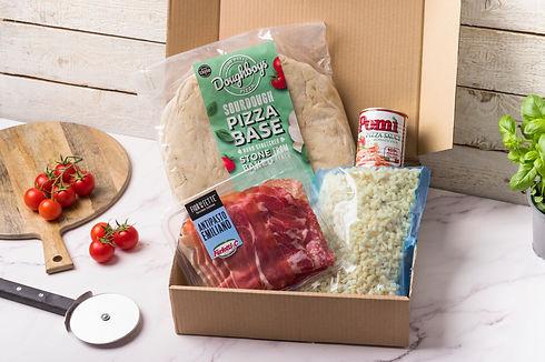 Doughboys Stone Baked Pizza | Pizza Kit | Award Winning Pizza | Sourdough Pizza | Italian Pizza Base | Margherita Pizza Kit | DIY Pizza Kit | Doughboys Pizza