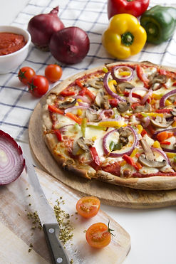 (Food And Beverage Solutions) Doughboys Stone Baked Pizza: Veggie Supreme