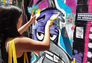 Signal Street Art Mentoring Program