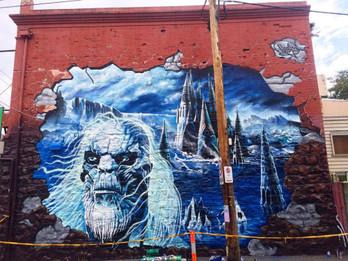 Heesco Icebar Mural