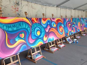 Yarra Valley Art Week Mural