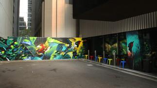 Fettle Vegan Mural - CBD