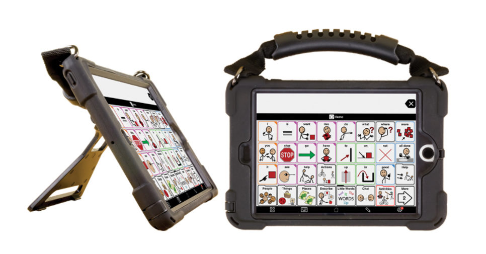 If you are looking for an IPad and you or your loved one needs an augmentative or alternative communication device, you really need to check this out.