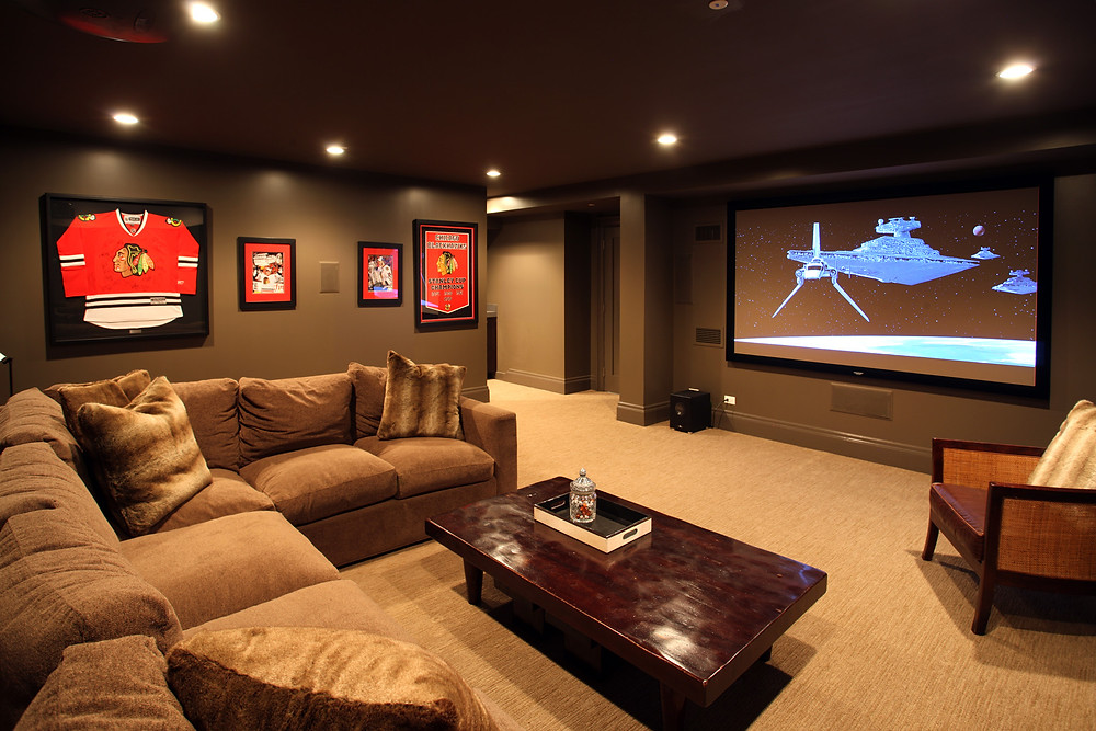 Chicago Basement Remodel by Foster Design Build