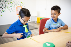 Kids need to apply speech and language in social settings