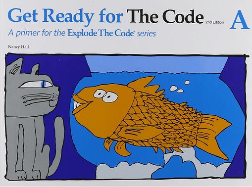 Explode the Code:  Pre-K through Kindergarten