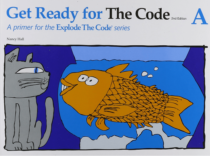 Explode the Code:  Pre-K through Kindergarten