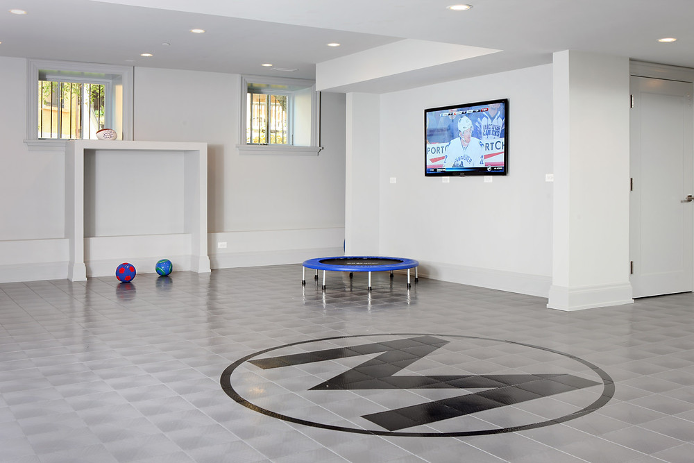 Chicago basement renovation by Foster Design Build