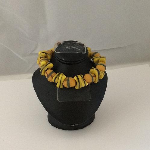 Unisex Krobo Bead bracelet
