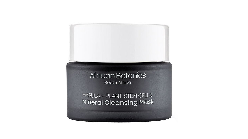 African Botanics 馬魯拉礦物清潔面膜