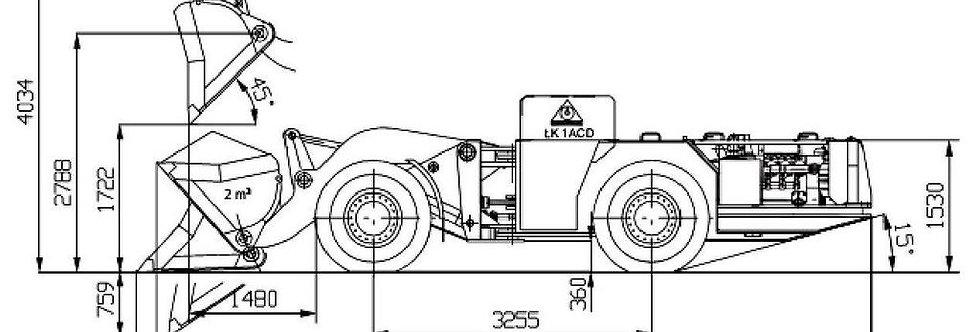 Подземный бульдозер FADROMA SWR-201S